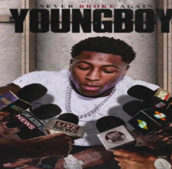 Album cover for NBA Youngboy's second album.