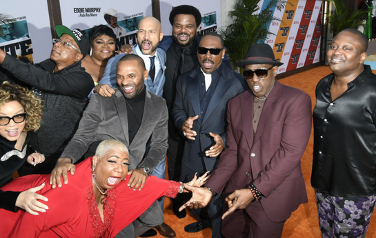 Dolemite is my name cast at event