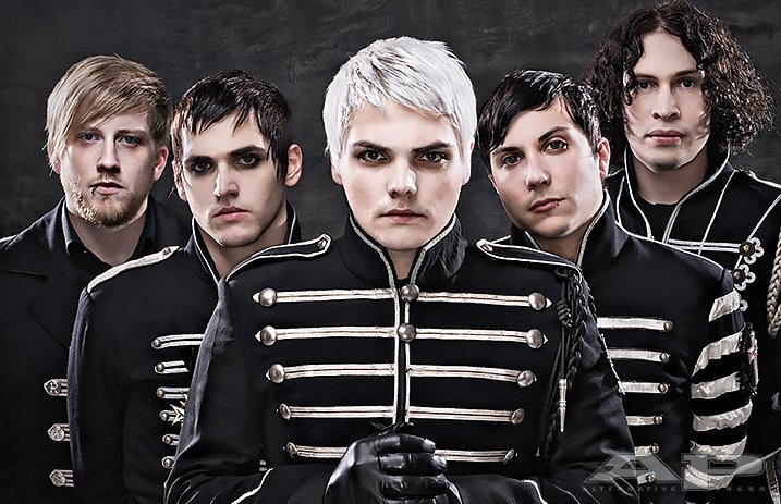 MCR Reunion Photo // from My Chemical Romance's Facebook